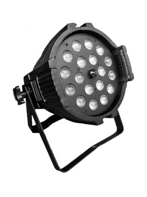 LED PAR ZOOM 18 x 12W RGBWA UV